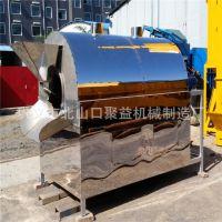 大型燃气电动炒货机 干果杂粮不锈钢炒货机 全自动滚筒炒锅