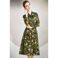 姬色品牌18新款秋装女装连衣裙折扣走份批发女装一手货源