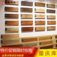 佛山地面瓷砖批发价格 客厅600×150仿古木纹卧室田园防水地砖