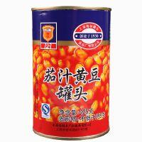 梅林茄汁黄豆罐头425g 带拉环即食早餐拌饭拌面意面户外素食品