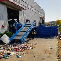四川卧式废纸打包机 大型卧式液压打包机厂家