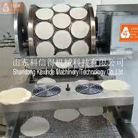 全自动春卷制皮机 家用商用春饼机 小型创业卷饼机卷馍皮机