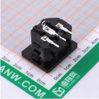 深圳C14品字插座 HC-99-02A3B20-P04P08 3孔
