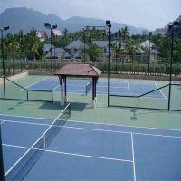 高尔夫球场护栏网 绿色勾花铁丝网 篮球场围网
