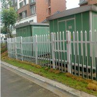 变压器PVC护栏 安全变压器防护栏 小区花园护栏
