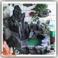 假山园林雕塑 别墅景观流水墙风水景观设计 园林景点工程假山施工