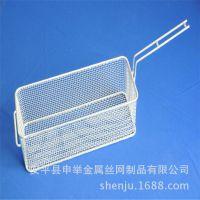 安平申举不锈钢搁架厨房油炸筐网篮 304方形烧烤网不锈钢