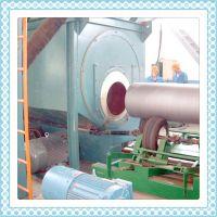 小型管径钢管除锈机 高效抛丸器抛丸除锈机 护管除锈设备生产价格