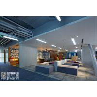 杭州学生教育培训机构装修设计效果图-国富装饰