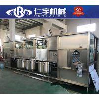大桶水矿泉水灌装机 10工位全自动5加仑灌装机生产线