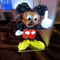 供应新款户外灯具 LED造型灯 3D米老鼠造型 广告亮化工程