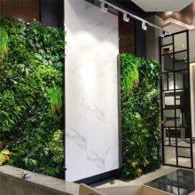 房地产样板房装饰绿植器假植物,加密逼真墙上绿植防火阻燃植物墙可上门安装广东上海深圳