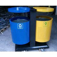 供应贵州高速公路垃圾桶 各种户外优质果皮箱 街道分类垃圾桶