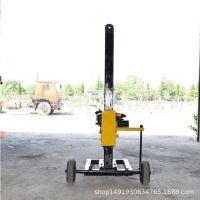 小型轻便地质勘测钻机  20米水井钻探  柴油岩石钻眼设备