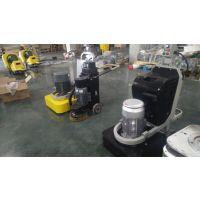 环氧地坪混凝土研磨机 特锐生产电动手扶无尘研磨机 T300钢板表面除锈机 无锡出售价格