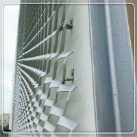 供应成都幕墙吊顶天花装饰铝拉伸网板洞洞板