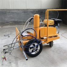 百一汽油冷喷式划线机 手推式路面划线机