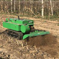 启航柴油履带果园开沟机 果树专用施肥机械 河北履带除草机价格