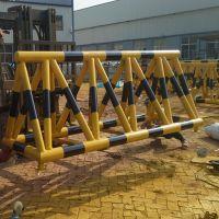 厂家直销拒马路障可移动护栏拦车阻车路障防撞栏设施警示地桩