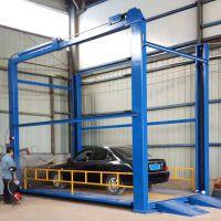 专业生产5吨导轨式升降平台 四柱式汽车举升机 电动液压升降货梯