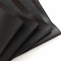 批发仿真皮革黑色针纹箱包皮带商标革1.5mm仿真皮面料