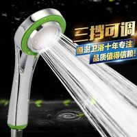 全新料超强增压花洒 淋浴喷头 手持浴室洗浴喷头加压热水器通用