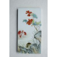 红木镶嵌瓷片 高档红木家具瓷片