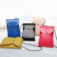 厂家批发2018新款女式单肩包韩版迷你小包包铆钉手机包可定制LOGO