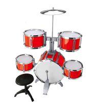 儿童架子鼓玩具仿真 儿童爵士鼓套装 敲打乐器玩具地摊批发热卖