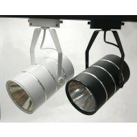 直流12V24V LED轨道灯直筒型COB导轨灯服装店节能射灯滑道吸顶式