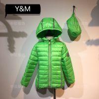 18新款童装YM轻款羽绒服冬季童装尾货批发