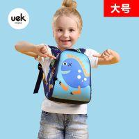 uek小学生包包男女孩卡通双肩包定做4-7岁大怪兽幼儿园儿童书包