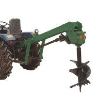 湖北树木种植挖坑机 四轮带栽树挖坑机 植树挖坑机