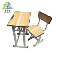 武汉课桌椅厂家批发学生课桌椅学校辅导班双人单人课桌