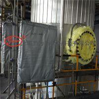 内蒙项目 可拆卸式执行器防火罩 柔性保温套