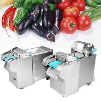 家用电不锈钢型切丝切丁机 萝卜切片机 功能齐全的蔬菜切断机报价
