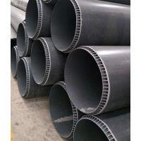 重庆淼漫管业PVC-U双层轴向中空管