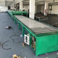 塑胶喷油流水线 烘干固化线 隧道炉烤干线 喷油加工固化设备厂家锋易盛