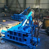 供应液压金属打包机 废铝合金下脚料压块机