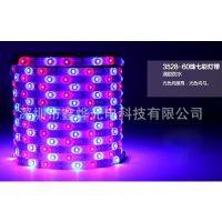 LED七彩灯条 3528灯带 60灯1米RGB软灯带 防水IP65 厂家热销
