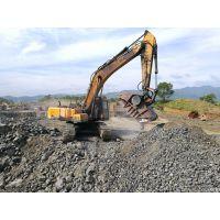 徐工215挖掘机破碎斗,UEDA挖机移动石子机,颚式破碎机原装现货