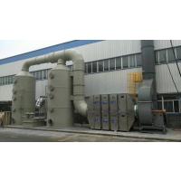 扬州印刷厂废气治理如何选择好的方案 南京橡胶行业设计方案 pp酸雾塔