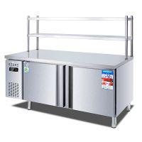 晟朗冷藏操作台保鲜工作台冰箱冷藏冷冻冰柜商用大容量双温冷柜