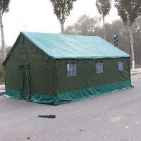 施工帐篷防雨水野户外军工程工地民用救灾养蜂帆布棉帐篷