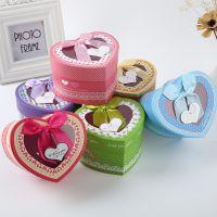 6个装创意纸盒心形礼品盒圣诞苹果包装盒礼物零食首饰礼包回礼盒