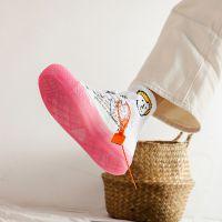 新款透明糖果色帆布鞋 拼色韩版女鞋 休闲小白鞋女平底鞋跨境货源