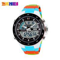 时刻美韩版时尚运动电子表防水个性潮流时刻美品牌创意手表