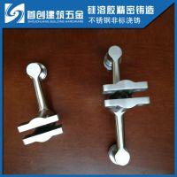立柱爪不锈钢玻璃爪件耐用不锈钢立柱爪件不锈钢栏杆立柱配件