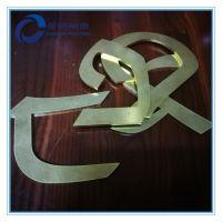 铜字体平面研磨抛光加工 铜双面平磨加工 平面精密研磨加工 五金平面表面研磨