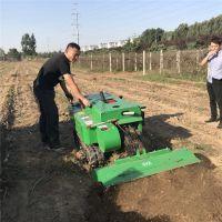 现货供应履带式开沟施肥机 遥控新型自走式旋耕机
